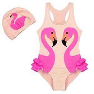 Other - New Flamingo Ballerina Girl's Bathing Suit